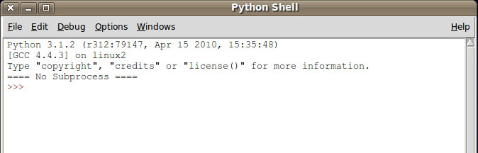 Using IDLE (Python's IDE)